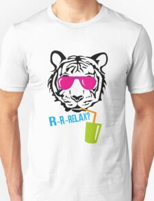 Face of a tiger relax T-Shirt