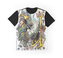 The Illustrated Alphabet Capital U (Fuller Bodied) from THE ILLUSTRATED MAN Graphic T-Shirt