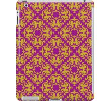 Classic Gold Ornaments Pattern iPad Case/Skin