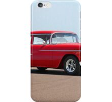 1955 Chevrolet Bel Air 'Post Coupe' iPhone Case/Skin