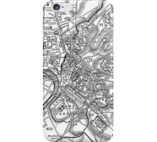 Vintage Map of Rome Italy (1911) iPhone Case/Skin
