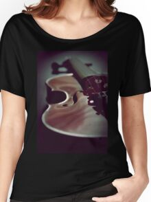 VIOLINE Women's Relaxed Fit T-Shirt