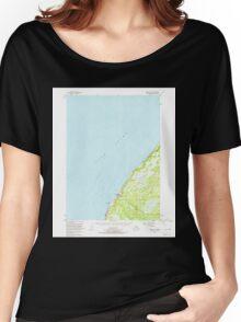 USGS TOPO Map Alaska AK Kenai A-5 356580 1951 63360 Women's Relaxed Fit T-Shirt