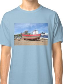 Old Fashioned Fishing Boat Classic T-Shirt
