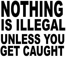 NOTHING IS ILLEGAL by James Chetwald Mattson