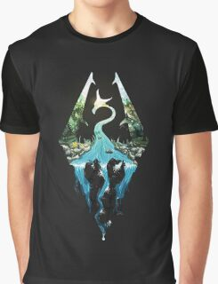 Skyrim Symbol EPIC Graphic T-Shirt
