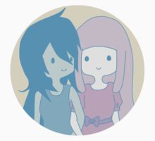 Marceline and Princess Bubblegum by tctreasures