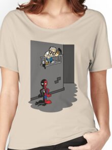 Spider Paint Women's Relaxed Fit T-Shirt