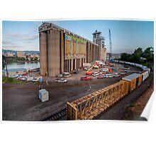 Passing the Portland Grain Terminal Poster