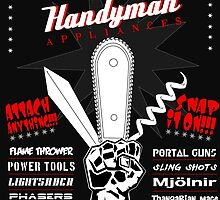 Ash & Merle's Handyman Appliances by TheMongoose