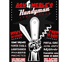Ash & Merle's Handyman Appliances Photographic Print