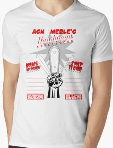 Ash & Merle's Handyman Appliances Mens V-Neck T-Shirt