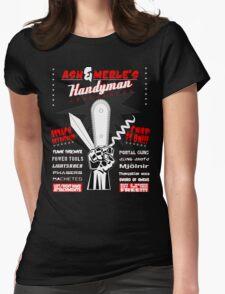 Ash & Merle's Handyman Appliances Womens Fitted T-Shirt
