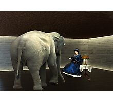 The Elephant In The Room... Photographic Print