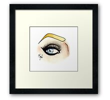 Eye see Raja Framed Print