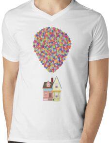 Balloons Mens V-Neck T-Shirt