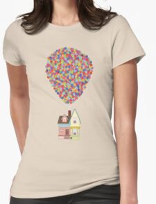 Balloons Womens Fitted T-Shirt