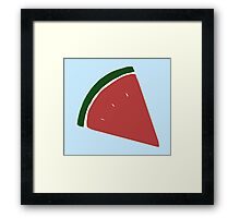 watermelons Framed Print