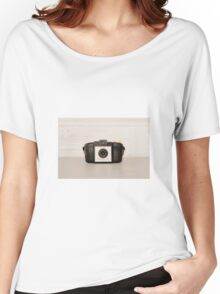 Vintage Brownie 127 Camera Women's Relaxed Fit T-Shirt