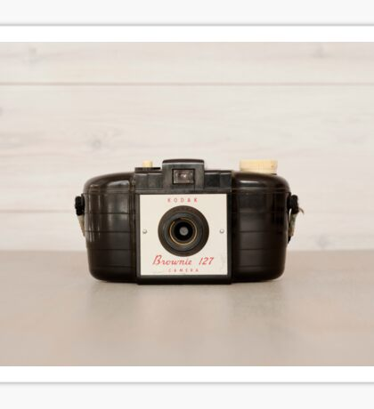 Vintage Brownie 127 Camera Sticker