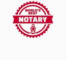 World's best notary Unisex T-Shirt