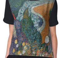Vincent Van Gogh - The Hermitage Chiffon Top