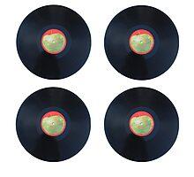 Beatles LP vinyl Photographic Print