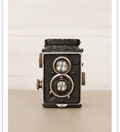 Vintage Rolleiflex Twin Lens camera Sticker