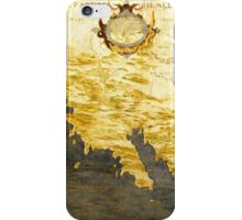 Vintage Map of California (1564) iPhone Case/Skin