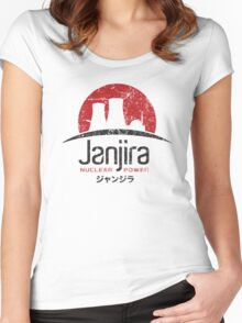 Janjira Nuclear Power Plant Women's Fitted Scoop T-Shirt