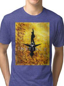 Hamilton inspired Instinct logo. Tri-blend T-Shirt