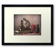 Jimmy .... Framed Print