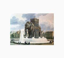 Vintage Elephant of The Bastille Illustration Unisex T-Shirt