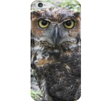Whoo you lookin at? iPhone Case/Skin