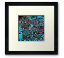Electronic Sound Framed Print