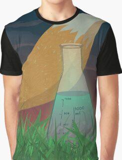 The Mischievous Fox Graphic T-Shirt