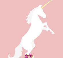 I Support Unicorns in Legwarmers by surlana