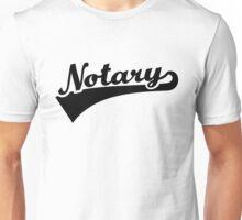 Notary Unisex T-Shirt