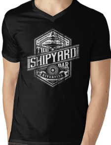 The Shipyard Bar Mens V-Neck T-Shirt