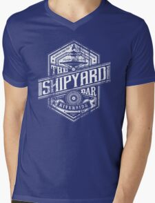 The Shipyard Bar Mens V-Neck T-Shirt