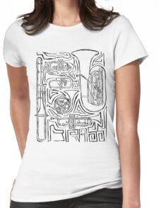 Dat Brass Womens Fitted T-Shirt