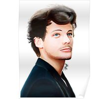 Louis Tomlinson Digital Painting Poster