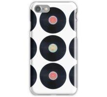 Schallplatten - Retro iPhone Case/Skin