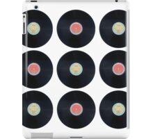 Schallplatten - Retro iPad Case/Skin
