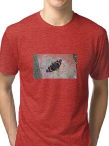 Butterfly . Tri-blend T-Shirt
