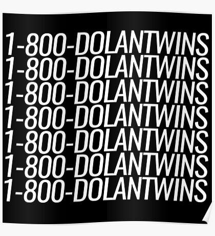 1-800-DOLANTWINS Poster
