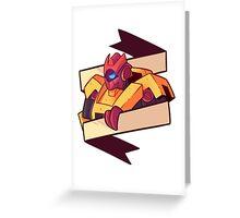 Glitch Greeting Card