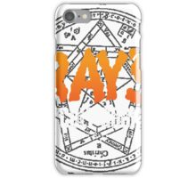 Rays Occult Books iPhone Case/Skin