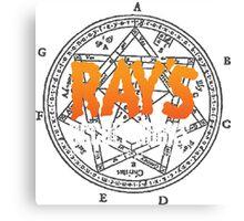 Rays Occult Books Canvas Print