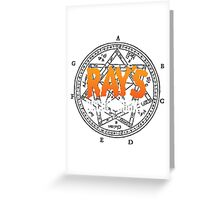 Rays Occult Books Greeting Card